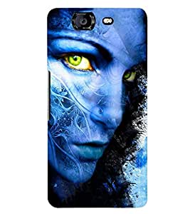 PRINTSWAG GIRL ART Designer Back Cover Case for MICROMAX A350 CANVAS KNIGHT