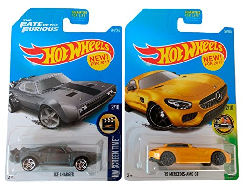 Pack Regalo Original 2 Hot Wheels (Ice Charger,