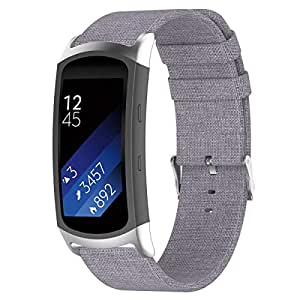 KOBWA Für Samsung Gear Fit 2 Pro/Gear Fit 2 Armband