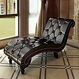 vidaXL COUCH Relaxsessel Liegesessel Sofa mit reiherentem Braun-Knopf 240407