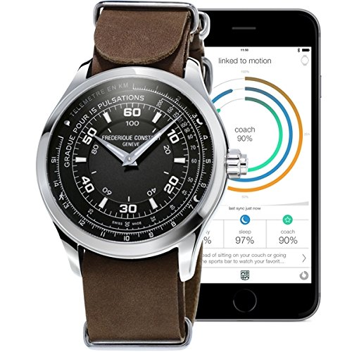Frederique Constant Swiss Horological Smartwatch orologio uomo FC-282ABS5B6