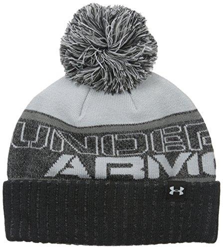 Under Armour Sportswear-Cappelli ragazzo Sportswear cappello Pom Beanie, Ragazzo, Sportswear Hut Pom Beanie, nero, Taglia unica