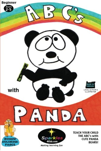 ABC's with Panda!: Teach your Child the ABC's with Panda Bears: Volume 1