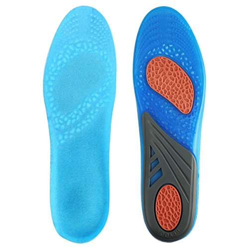 HLYOON silicone Le solette possono essere tagliati , È possibile tagliare solette sportivi solette Orthotici(L)