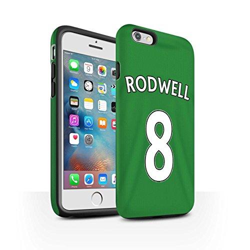 Officiel Sunderland AFC Coque / Matte Robuste Antichoc Etui pour Apple iPhone 6+/Plus 5.5 / Pack 24pcs Design / SAFC Maillot Extérieur 15/16 Collection Rodwell