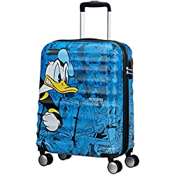 Disney Disney Wavebreaker - Spinner 55/20 Equipaje de mano, 55 cm, 36 liters, Varios colores (Donald Duck)