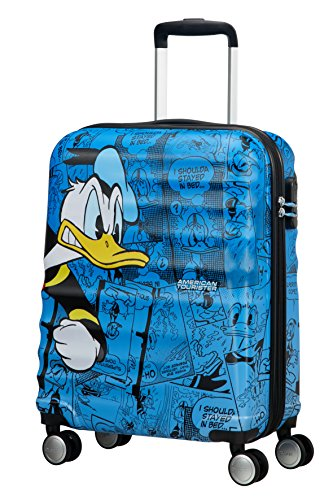 disney Wavebreaker Spinner Koffer, 55 cm, 36 L, Donald Duck (Spinner Cabin)
