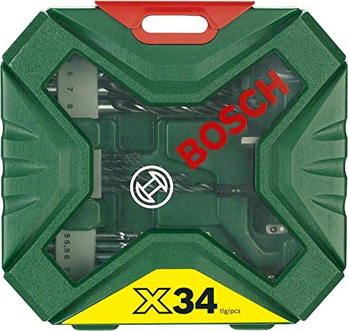 Bosch-Home-and-Garden-2607010608-x-Line-Set-Avvitamento-e-Foratura-34-Pezzi