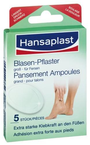 Hansaplast 92667 Blasenpflaster gross 5 Stück
