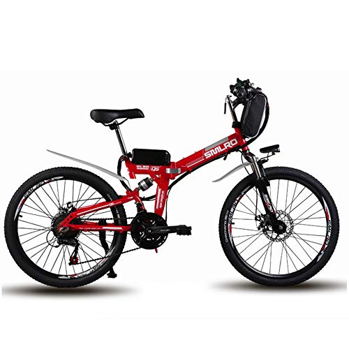 WYFDM Bicicleta Pulgada montaña 60 km Maxspeed 35