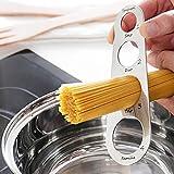 Spaghettimaß aus Edelstahl Küchenhelfer für Messen und Dosieren Menge Pasta