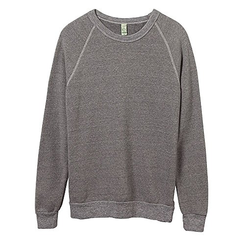 Alternative Sweatshirt Apparel (Alternative Apparel Herren Champ Pullover (S) (Eco Grau))