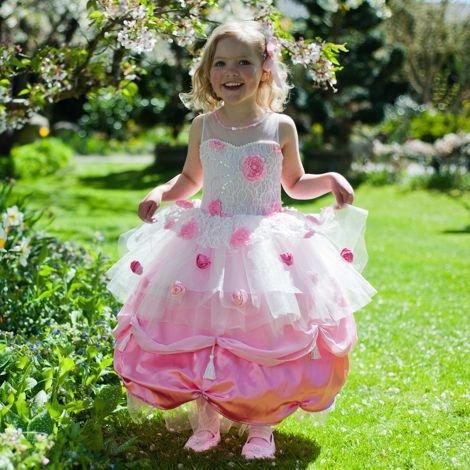 -Edition-Kostüm Fasching Mädchen-rosa Kleid für Cupcakes, Prinzessin, 6-8 Jahre (Mädchen Cupcake-kleid)