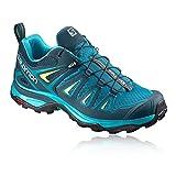 Salomon Women's Ultra 3 Trekking-and Walking Shoes, Blue