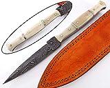 Damastmesser Jagdmesser Klappmesser Stahl Klinge Camping Fischer Scouting taschenmesser Messer 1578
