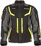 Klim Badlands Pro Motorrad Textiljacke Neon-Gelb L