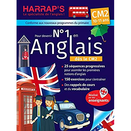 Harrap's Numéro 1 en anglais CM2