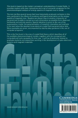 Crystal Field Handbook Hardback