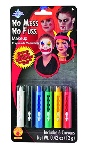 Rubies No-Mess Make Up Crayons, 6-Color by Rubie's