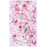 Demiawaking 3x5ft Romantische Rose Vinyl Studio Fotografie Hintergrund Foto Requisiten