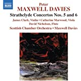 Maxwell Davies: Strathclyde Concertos 5 & 6 [James Clark, Catherine Marwood, Peter Maxwell Davies] [Naxos: 8572354]