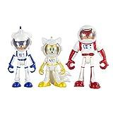 Tomy Sonic Boom Set di 3 personaggi: Sonic, Knuckles e Eggmann