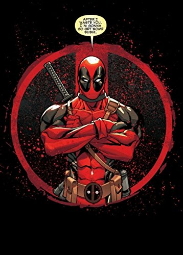 Marvel Comics Metal Poster Deadpool Evening Plans 32 x 45 cm Posters Wallscrolls