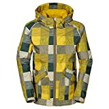 Jack Wolfskin BOYS CONKERS JACKET burnt olive checks