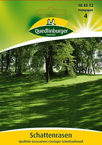 Schattenrasen Qualitäts-Grassamen | Geringer Schnittaufwand - wöchtenlich Nicht für Futterzwecke bestimmt. Kleinpackung EG A
