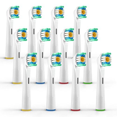 ORAX 12 pzs. (3x4) Teste di ricambio per spazzolino elettrico Oral B/3D White (EB18-4) - Ricambi spazzolino per Oral B spazzolino elettrico
