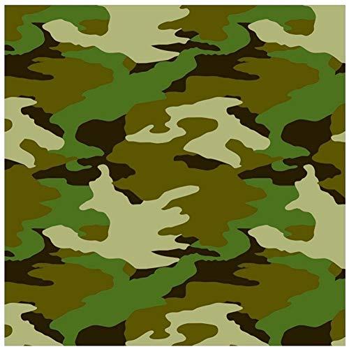 NANA'S PARTY Camouflage Geburtstagsparty Tischgeschirr Luftballons Dekoration Zubehör (Armee) 1 X 1.5m Gift Wrap (Am239851) (Camouflage Party Dekorationen)