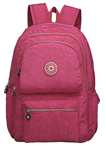 hopeeye-college-style-womens-and-grils-rose-red-canvas-school-backpack-bag
