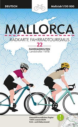 Mallorca, Radkarte Fahrradtourismus: 22 Fahrradrouten (Mapes)