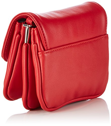 Lady Edelweiss Trachtentasche, Borsa a tracolla donna Rosso (Rosso (Rosso))
