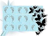 Airbrush-Schablonen- Nagellack Schablonen für aufregende selbstklebende Airbrush Nailart