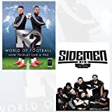 F2 World of Football and Sidemen The Book [Hardcover] 2 Books Bundle Collection with Gift Journal - How to Play Like a Pro