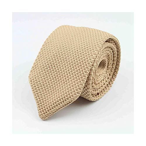 Grüne Gesponnene Krawatte (Sunonip Feste bunte Krawatte der Männer stricken gestrickte Krawatten-Krawatte Normale dünne klassische gesponnene Krawatten-Schmale Krawatten)