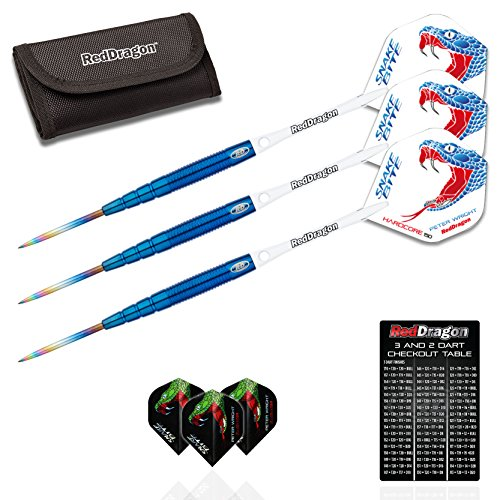 red-dragon-peter-wright-snakebite-blue-pl15-24g-90-tungsten-steel-darts-with-flights-shafts-wallet-r