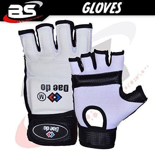 Preisvergleich Produktbild Handschuhe Die Finger zu öffnen High Style Taekwondo Polsterung / Füllung Handschuhe Light de Combat T: M