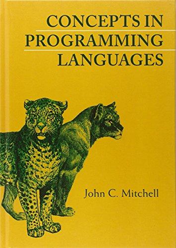 Concepts in Programming Languages Hardback