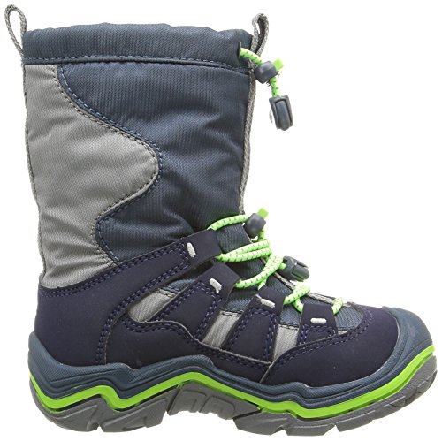 KEEN Winterport II WP Scarpa invernali da bambino Blau (midnight navy/jasmine green)