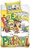 PAW Patrol PAW173023C Kinderbettwäsche Babybettwäsche 100x135 cm + 40x60 cm