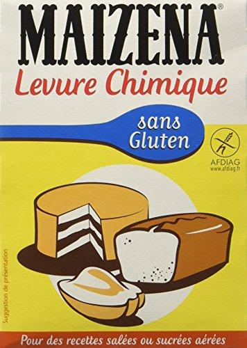 Maizena Levure Chimique sans Gluten 57 g - Lot de 6