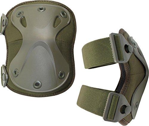 Knieschützer Protect mit elastischem Komfortverschluss Farbe Oliv