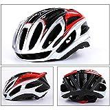 HUOFEIKE Profi-Fahrradhelm, Radhelm, Mountainbike-Lüftung und winddichtem Adjustable Head Size Sports Fahrradhelm, Male/Female,Silver