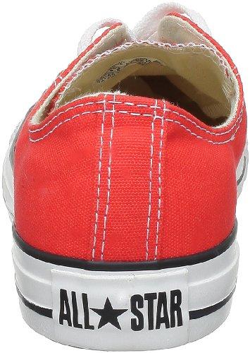 Converse Chuck Taylor All Star Season Ox, Unisex Sneaker Rot (Tomato)