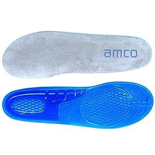 amco Massage Silikon Gel Schock Absorbierende Einlegesohlen