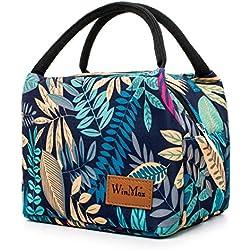 winmax Sac Isotherme Repas Femme Lunch Bag Sac à déjeuner Sac Fraîcheur Portable Sac de Pique-Nique pour Le École et Le Travail