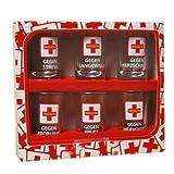 Schnapsgläser 6 Stück 7cm Medizin im Geschenkkarton