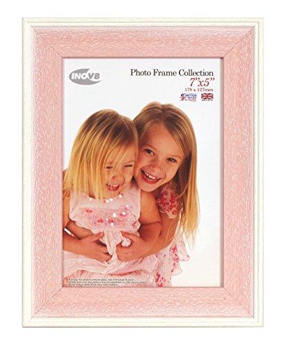 Inov8 PFE-AUPW-75 Traditionell Briten Foto und Bilderrahmen, 13 x 18 cm, Packung mit 4, Austen rosa wasch